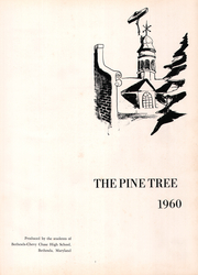 Page 5, 1960 Edition, Bethesda Chevy Chase High School - Pine Tree Yearbook (Bethesda, MD) online yearbook collection