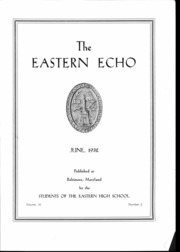 Page 10, 1932 Edition, Eastern High School - Echo Yearbook (Baltimore, MD) online yearbook collection
