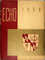 Page 1, 1958 Edition, Eastern High School - Echo Yearbook (Baltimore, MD) online yearbook collection
