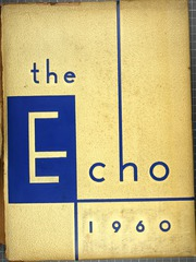 1960 Edition, Eastern High School - Echo Yearbook (Baltimore, MD)