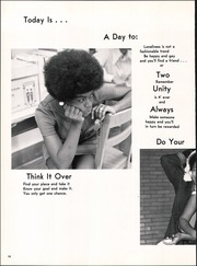 Page 14, 1972 Edition, Eastern High School - Echo Yearbook (Baltimore, MD) online yearbook collection