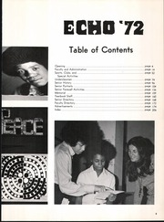 Page 7, 1972 Edition, Eastern High School - Echo Yearbook (Baltimore, MD) online yearbook collection
