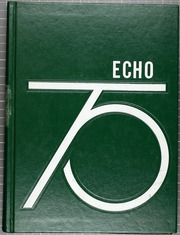 1975 Edition, Eastern High School - Echo Yearbook (Baltimore, MD)