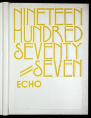 1977 Edition, Eastern High School - Echo Yearbook (Baltimore, MD)