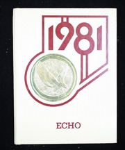 1981 Edition, Eastern High School - Echo Yearbook (Baltimore, MD)