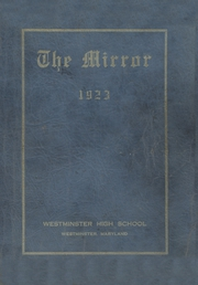 Page 1, 1923 Edition, Westminster High School - Owl Yearbook (Westminster, MD) online yearbook collection