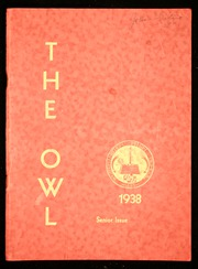 Page 1, 1938 Edition, Westminster High School - Owl Yearbook (Westminster, MD) online yearbook collection