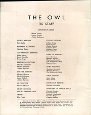 Page 14, 1938 Edition, Westminster High School - Owl Yearbook (Westminster, MD) online yearbook collection