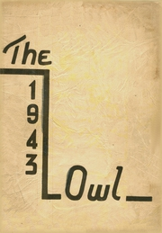 Page 1, 1943 Edition, Westminster High School - Owl Yearbook (Westminster, MD) online yearbook collection