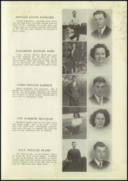 Page 17, 1943 Edition, Westminster High School - Owl Yearbook (Westminster, MD) online yearbook collection