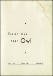 Page 5, 1943 Edition, Westminster High School - Owl Yearbook (Westminster, MD) online yearbook collection