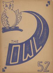 Page 1, 1952 Edition, Westminster High School - Owl Yearbook (Westminster, MD) online yearbook collection