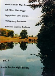 Page 5, 1971 Edition, Bowie High School - Bulldog Yearbook (Bowie, MD) online yearbook collection
