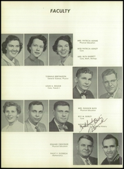 Page 10, 1955 Edition, Oxon Hill High School - Clippers Log Yearbook (Oxon Hill, MD) online yearbook collection