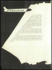 Page 6, 1955 Edition, Oxon Hill High School - Clippers Log Yearbook (Oxon Hill, MD) online yearbook collection