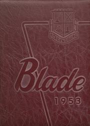 1953 Edition, Bladensburg High School - Peacecrosser Yearbook (Bladensburg, MD)