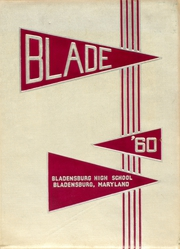 1960 Edition, Bladensburg High School - Peacecrosser Yearbook (Bladensburg, MD)