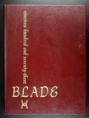 1973 Edition, Bladensburg High School - Peacecrosser Yearbook (Bladensburg, MD)