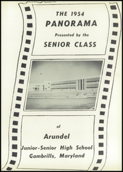 Page 5, 1954 Edition, Arundel High School - Panorama Yearbook (Gambrills, MD) online yearbook collection