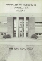 Page 5, 1960 Edition, Arundel High School - Panorama Yearbook (Gambrills, MD) online yearbook collection
