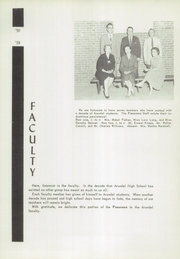 Page 9, 1960 Edition, Arundel High School - Panorama Yearbook (Gambrills, MD) online yearbook collection