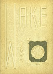 1944 Edition, Annapolis High School - Wake Yearbook (Annapolis, MD)