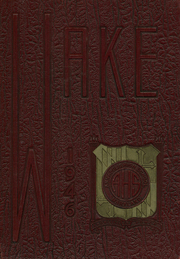 1946 Edition, Annapolis High School - Wake Yearbook (Annapolis, MD)