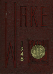 1948 Edition, Annapolis High School - Wake Yearbook (Annapolis, MD)