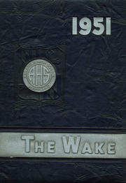 1951 Edition, Annapolis High School - Wake Yearbook (Annapolis, MD)