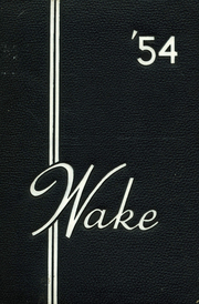 1954 Edition, Annapolis High School - Wake Yearbook (Annapolis, MD)