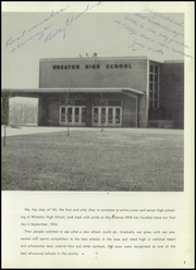 Page 7, 1960 Edition, Wheaton High School - Scarlet Lance Yearbook (Wheaton, MD) online yearbook collection