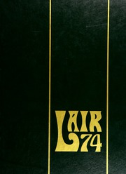 1974 Edition, Parkdale High School - Lair Yearbook (Riverdale, MD)