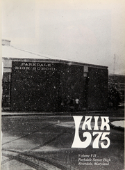 Page 5, 1975 Edition, Parkdale High School - Lair Yearbook (Riverdale, MD) online yearbook collection