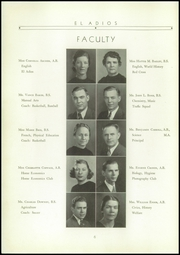 Page 10, 1939 Edition, Bel Air High School - El Adios Yearbook (Bel Air, MD) online yearbook collection