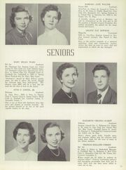 Page 15, 1952 Edition, Bel Air High School - El Adios Yearbook (Bel Air, MD) online yearbook collection