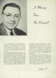 Page 10, 1956 Edition, Parkville High School - Odyssey Yearbook (Parkville, MD) online yearbook collection