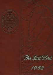Page 1, 1952 Edition, Frederick High School - Last Word Yearbook (Frederick, MD) online yearbook collection