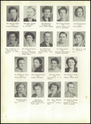Page 10, 1952 Edition, Frederick High School - Last Word Yearbook (Frederick, MD) online yearbook collection