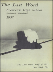 Page 5, 1952 Edition, Frederick High School - Last Word Yearbook (Frederick, MD) online yearbook collection