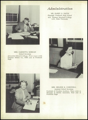 Page 8, 1952 Edition, Frederick High School - Last Word Yearbook (Frederick, MD) online yearbook collection