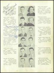 Page 15, 1953 Edition, Frederick High School - Last Word Yearbook (Frederick, MD) online yearbook collection