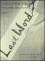 Page 5, 1953 Edition, Frederick High School - Last Word Yearbook (Frederick, MD) online yearbook collection