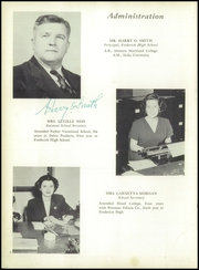 Page 8, 1953 Edition, Frederick High School - Last Word Yearbook (Frederick, MD) online yearbook collection