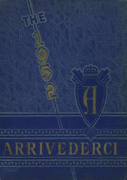 1952 Edition, Aberdeen High School - Arrivederci Yearbook (Aberdeen, MD)