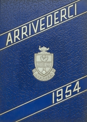 1954 Edition, Aberdeen High School - Arrivederci Yearbook (Aberdeen, MD)