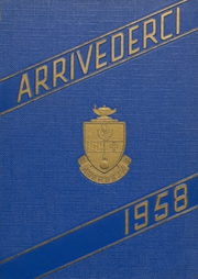 1958 Edition, Aberdeen High School - Arrivederci Yearbook (Aberdeen, MD)