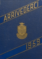 1959 Edition, Aberdeen High School - Arrivederci Yearbook (Aberdeen, MD)