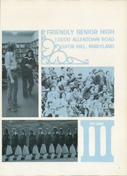 Page 3, 1973 Edition, Friendly High School - Spirit Yearbook (Fort Washington, MD) online yearbook collection