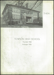 Page 6, 1941 Edition, Towson High School - Sidelights Yearbook (Towson, MD) online yearbook collection