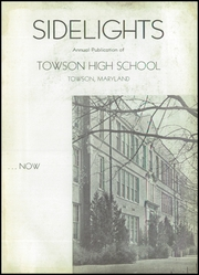 Page 7, 1941 Edition, Towson High School - Sidelights Yearbook (Towson, MD) online yearbook collection